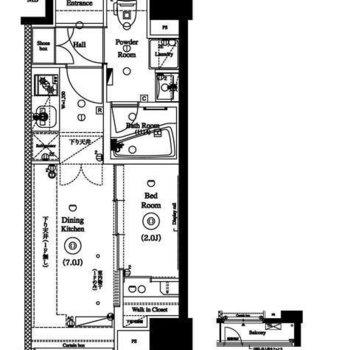 1DKの暮らしやすいお部屋です。