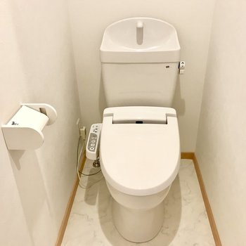 トイレもぴっかぴかー!