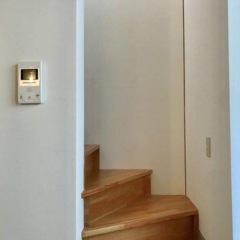 階段を登ると※写真は前回募集時のものです。