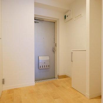 玄関スペースです。※前回募集時の写真です