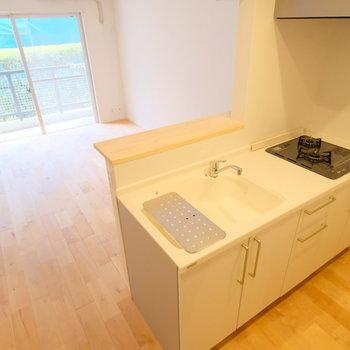 キッチンも充分なスペースがあります!※前回募集時の写真です