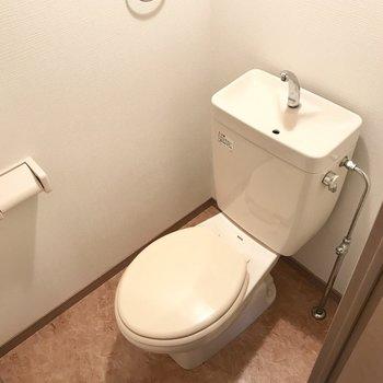 トイレも収納付きですよ◎(※写真は前回募集時のものです)