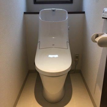 トイレとってもきれいです