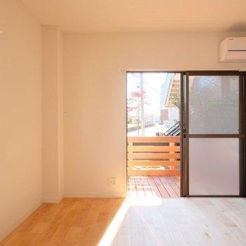 南向き、角部屋の好条件※写真は同間取り反転タイプの1階のお部屋です