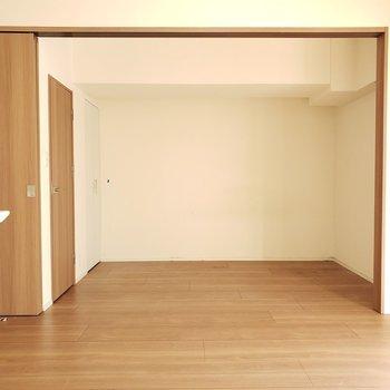 ひろ〜い!!!※写真は9階の同間取り別部屋のものです