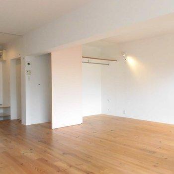 15帖と広さ十分。※写真は2階の反転間取り別部屋です。