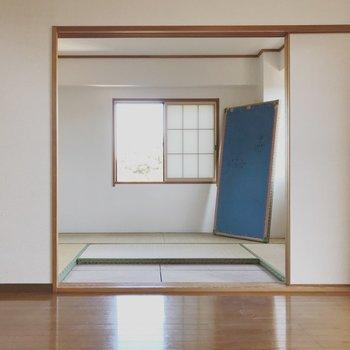 【工事前】和室も開けると開放的!