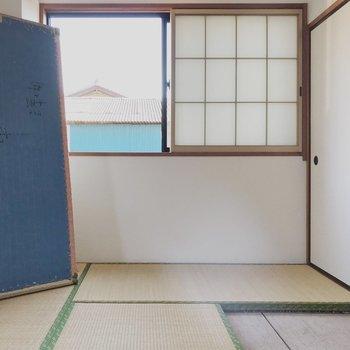 【工事前】2面採光で明るい和室