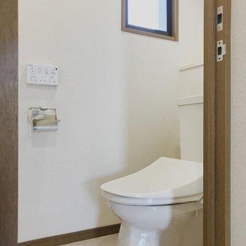 【工事前】トイレはウォシュレット付いてます