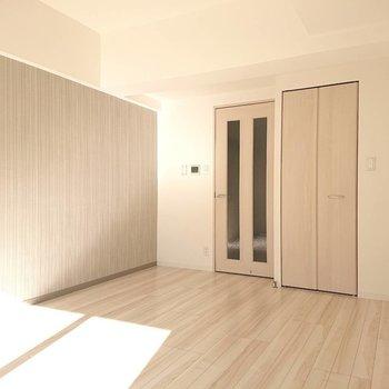 優しい色に包まれたお部屋