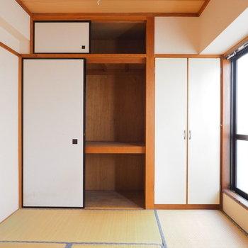 【工事前】こちらは逆側の寝室※写真は似た間取りの別部屋です