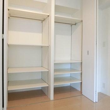 棚も ※写真は4階の同間取り別部屋のものです。