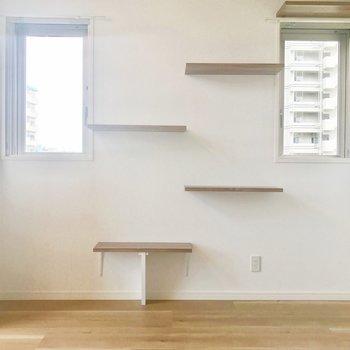 珍しいキャットウォーク ※写真は4階の同間取り別部屋のものです。