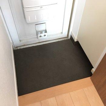 玄関は普通サイズですね。