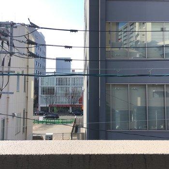 眺望は住宅街ですね。