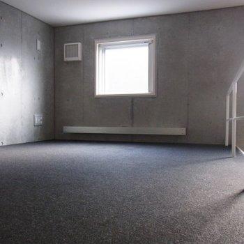 ロフトはカーペットになってます。※写真は前回募集時のものです。
