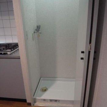 洗濯機はキッチンの横※写真は前回募集時のものです。