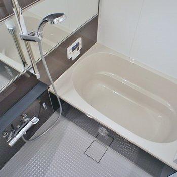 お風呂はゆったりサイズで※写真は同タイプの別室