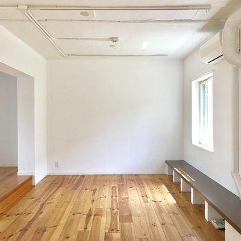 無垢床が気持ち良い〜 ※写真は前回募集時のものです