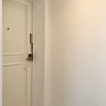 玄関が土間でかわいい ※写真は前回募集時のものです