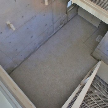 上から見るとこんな感じのお部屋。