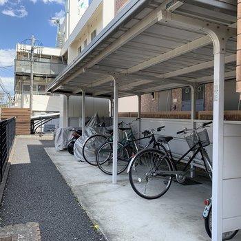 便利な駐輪場◯