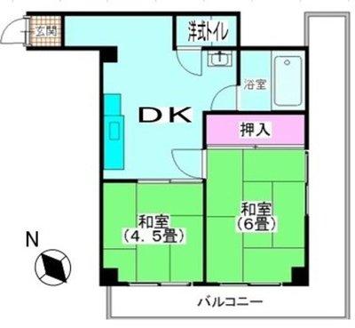 第二京浜ビル の間取り