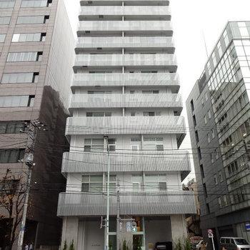 品川駅の築浅物件※写真は7階の同間取り別部屋のものです。