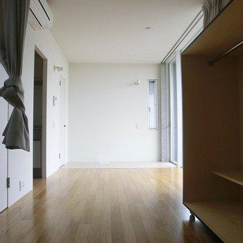 結構広いです。※写真は3階の同間取り別部屋のものです。