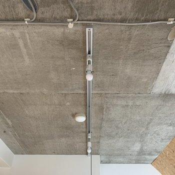 天井はコンクリート