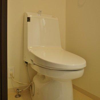 トイレはウォシュレット付!※写真は同タイプの別室