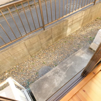 窓の外はこんな感じ※写真は前回募集時のものです