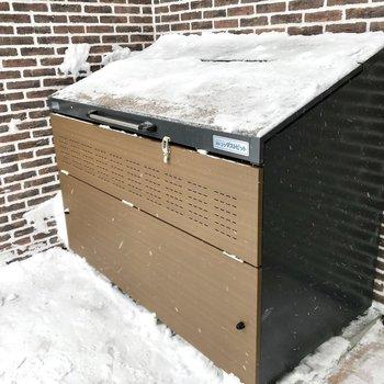 敷地内ゴミ置き場も完備!
