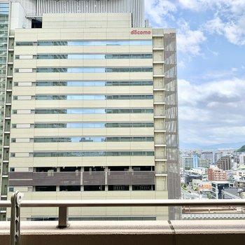 9階からの眺めは清々しい〜!