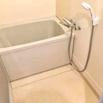 サーモ水栓でゆったりめなお風呂。