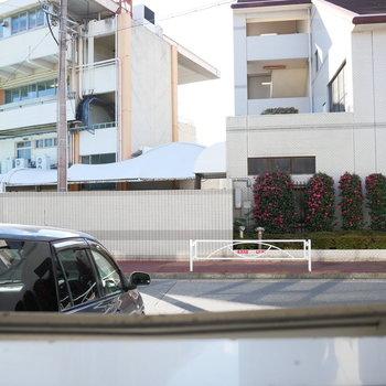 1階なので眺望は敷地内の駐車場