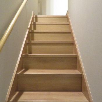 さて階段があって
