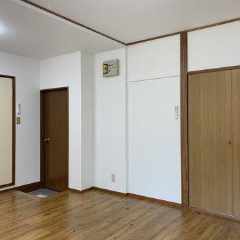 レトロ感のある部屋