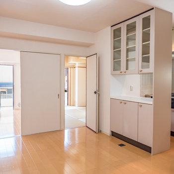 陽当たり良好なお部屋となっております※写真は前回募集時のものです。※写真は2階の同間取り別部屋のものです