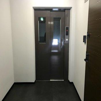 しっかりエレベーターも!