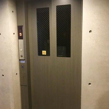 エレベーター付きですよ♪