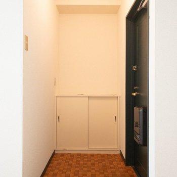 十分すぎる広さの玄関!