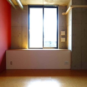 光が浴びれるよーう※写真は7階の反転間取り別部屋のものです