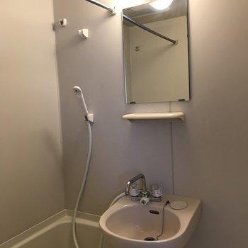 浴室乾燥機つきです ※写真は前回募集時のものです