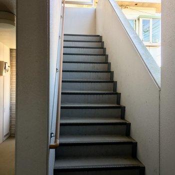 4階まで階段もがんばれますよね。