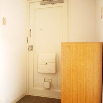 玄関もレトロ風味(※写真は前回募集時のものです)