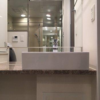 ホテルみたいな洗面台
