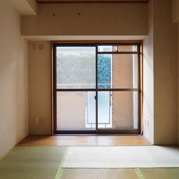 【工事前】こちらの和室も無垢床に
