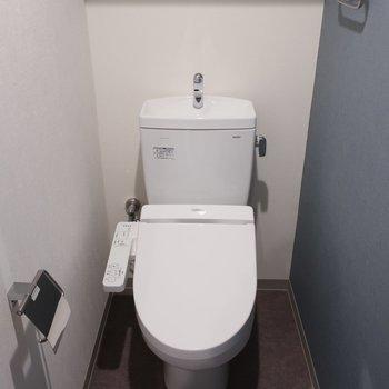 トイレはウォシュレット完備です