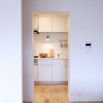 ひ・み・つのキッチンスペース※家具・小物はサンプルです